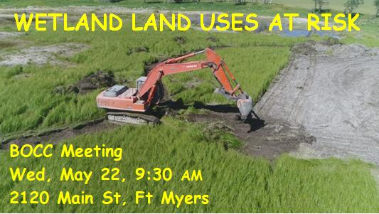 BOCC acts on wetlands